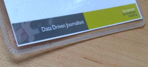 badge data driven journalism ejc